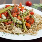 pasta primavera - No Diets Allowed