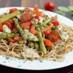 pasta primavera - No Diets Allowed