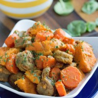 Easy Sausage, Potato, and Carrot Stew