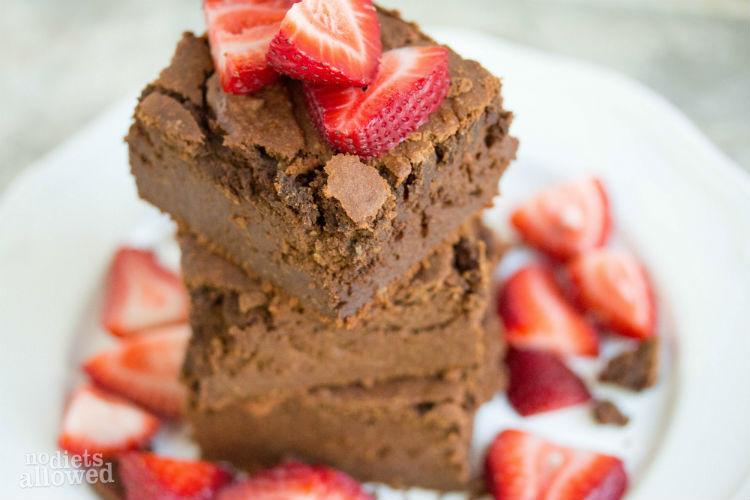 sweet potato brownies recipe - No Diets Allowed