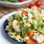 chicken garlic pasta - No Diets Allowed