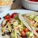 mango salsa chicken tacos - No Diets Allowed