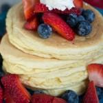 gluten free pancakes recipe - No Diets Allowed