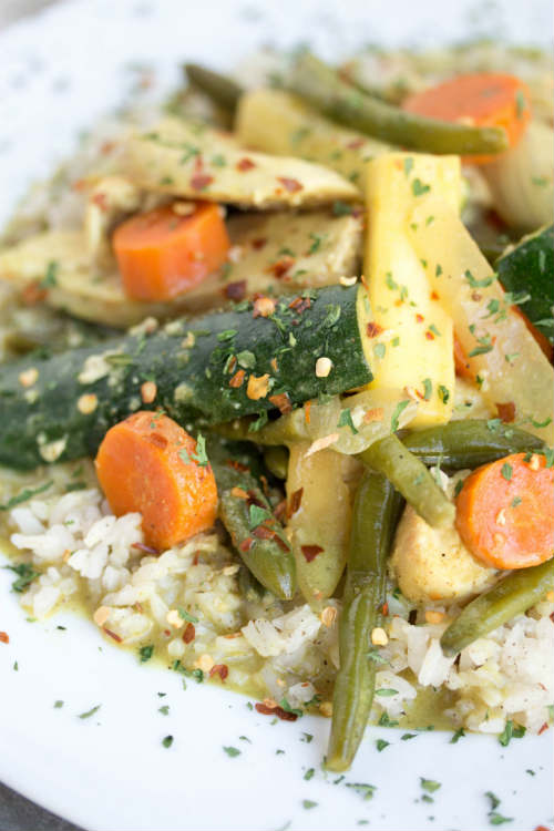 yellow curry chicken recipe - No Diets Allowed