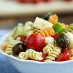 easy italian pasta salad - No Diets Allowed
