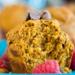 Chocolate Pumpkin Banana Muffins Easy Recipe - No Diets Allowed