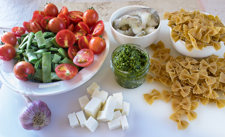 Pasta and Shrimp Recipe - No Diets Allowed #Food #Foodie #Pasta