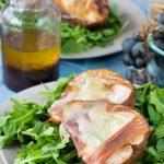 Roasted Pear & Prosciutto Salad - No Diets Allowed #Food #Foodie #Salad