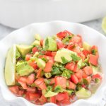 Healthy Authentic Avocado Guacamole Dip Recipe – No Diets Allowed #Food #Foodie