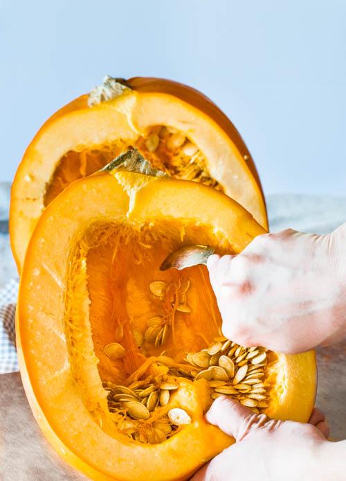 Pumpkin Ricotta Cheesecake Recipe - No Diets Allowed #Food #Foodie