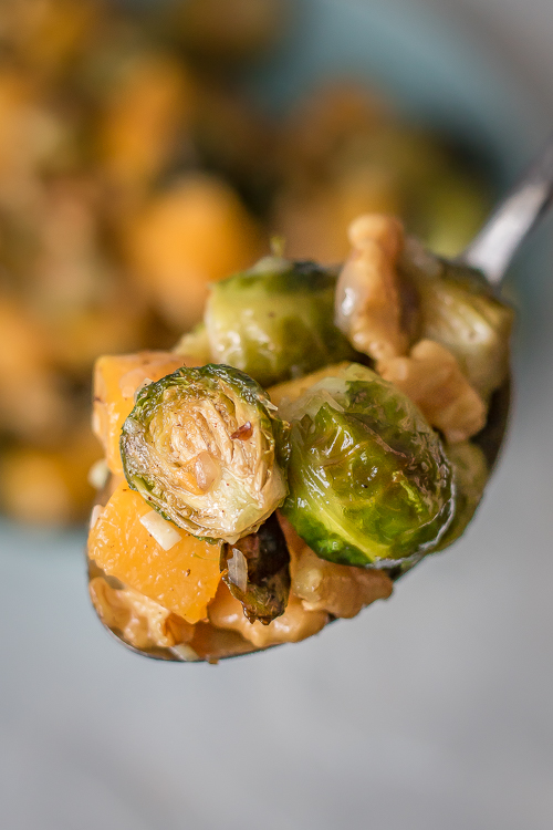 Roasted Fall Vegetables Recipe - No Diets Allowed #Food #Foodie