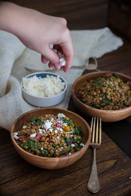 Swiss Chard Salad Recipes - No Diets Allowed #Foodie #Food