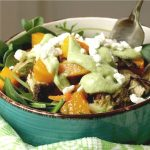 Roast Vegetable Salad Recipe - No Diets Allowed #Food #Foodie