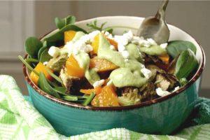 Roast Vegetable Salad Recipe - No Diets Allowed #Food #Foodie