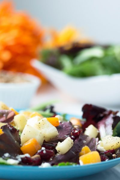 Roasted Butternut Squash Salad Recipes – No Diets Allowed #Food #Foodie