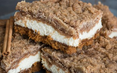 Snickerdoodle Cheesecake Bars Recipe