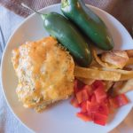Leftover Turkey Enchilada Casserole Recipe - No Diets Allowed #Turkey #Food #Foodie
