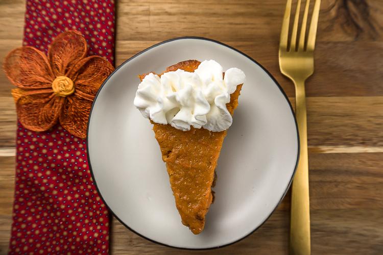 Easy Simple Sweet Potato Pie Recipe - No Diets Allowed #Food #Foodie
