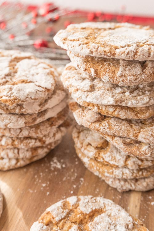 Easy Soft Gingerbread Cookies Recipe No Diets Allowed