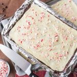 Ghirardelli White Chocolate Peppermint Bark - No Diets Allowed #Food #Foodie #Peppermint