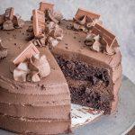 best moist chocolate cake recipe from NoDietsAllowed.com