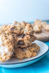 Best Chewy & Soft Oatmeal Raisin Cookies - No Diets Allowed