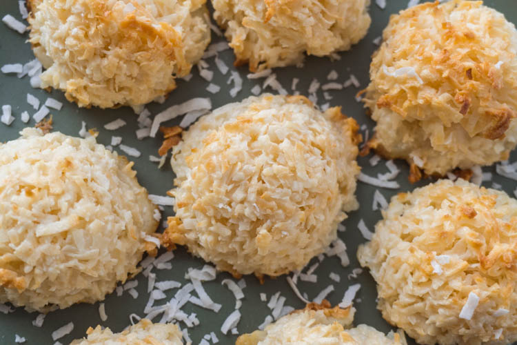 Gluten Free Coconut Macaroon Cookies