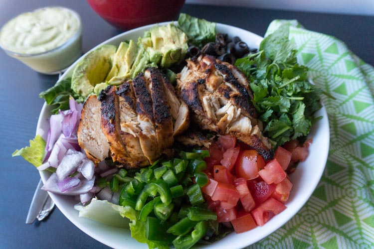 Southwest Chicken Salad Recipe