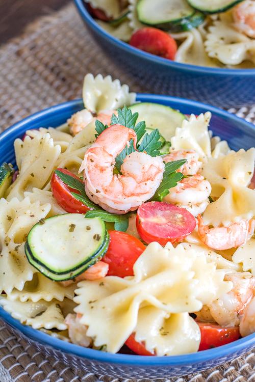 Best Cold Shrimp Pasta Salad No Diets Allowed