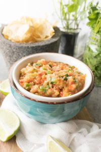 Easy Pineapple Fruit Salsa Recipe from No Diets Allowed